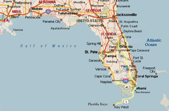 Los Cayos Florida Map.Los 11 Sitios Que Debes Visitar En Miami Miss And Chic Blog